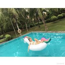 canap gonflable piscine bouée gonflable géante matelas lit pour famille adultes et enfant