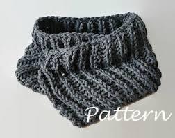 Knitted Chandelier Earrings Pattern Knit Scarf Pattern Etsy