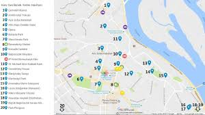 Kiev Map Kiev U0027de Gezilecek Yerler U0026 En Güzel 10 Yer Gezipgordum Com