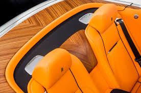 roll royce orange rolls royce dawn first look review motor trend