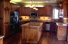 unfinished knotty alder kitchen cabinets elegant kitchen design