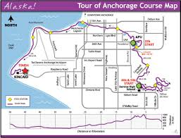 Map Of Anchorage Alaska by Tour Of Anchorage Nordic Skiing Association Of Anchorage