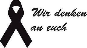 trauerflor sprüche trau2 1 aufklebertrauerschleife kondolenzschleife aidsschleife