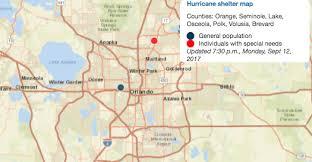 Sports Authority Winter Garden - list of hurricane irma shelters orlando sentinel