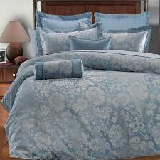 Light Blue And Silver Bedroom Royal Blue Bedding Sets Pc Light Blue Silver Gray Floral Design