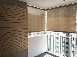 Track Guided Outdoor Blinds Outdoor Blinds Singapore Softhome