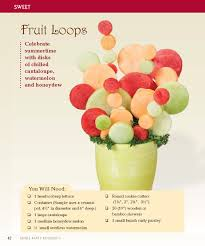 plastic skewers for fruit arrangements edible party bouquets creating gifts and centerpieces with fruit