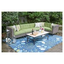 Outdoor Patio Furniture Sectional Outdoor Sectionals Target