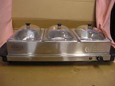 nostalgia electrics chafing dishes u0026 warming trays ebay