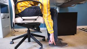 Stand Desk Ikea by Home Office Tips Ergonomic Chair U0026 Standing Desk U2013 Ikea Home Tour