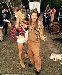 Joe Dirt Halloween Costume Carl U0027s Jr Model Charlotte Mckinney Teases Hint Cleavage