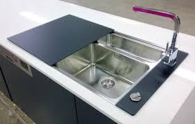 Kitchen Sink Covers Kitchen Sink With Glass Cover Search Sinks Pinterest