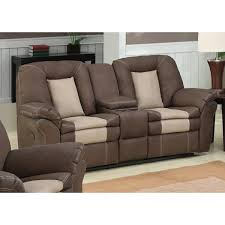 carson dual reclining loveseat with storage console free