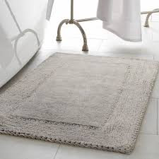 Cotton Bathroom Rugs Home Ruffle Cotton Bath Rug Reviews Wayfair