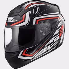 ls2 motocross helmet ls2 ff352 rookie ranger black red motorcycle helmet lazada malaysia