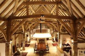 Lighting For Beamed Ceilings Barn Lighting A Study Brilliant Lighting