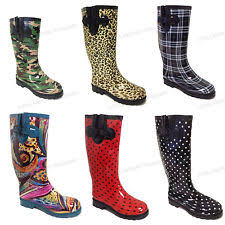 Rainboots Polka Dot Rain Boots Ebay