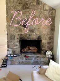 Livelovediy by Livelovediy Faux Stacked Log Fireplace Tutorial