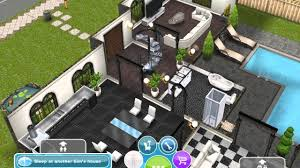 sims freeplay 2 story house ideas