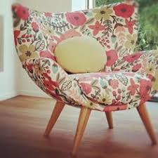 lotus wingback chair the colors the flowered pattern love