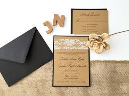 wedding invitations kraft paper get krafty with kraft paper