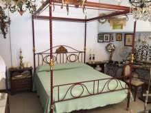 letto a baldacchino antico letto a baldacchino arredamento mobili e accessori per la casa