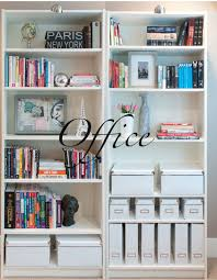 decorate office shelves my home office makeover extra storage storage and bookshelf