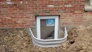basement window well installing egress window well for a basement bedroom