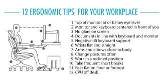 Ergonomic Desk Position The Ergonomic Workplace Ergonomics Direct