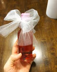 wine bottle bows made in the shade diy mini wine bottle bows and labels