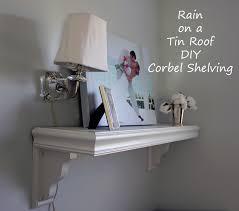 Corbel Shelf Brackets Diy Corbel Shelving