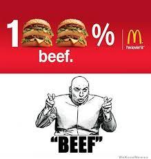 Dr Evil Meme - beef sure weknowmemes