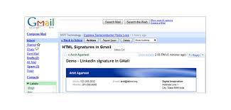 29 gmail signature templates u2013 samples examples u0026 format free