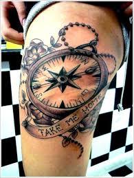 best 25 compass tattoo meaning ideas on pinterest compass thigh
