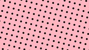 Polka Dot Wallpaper Wallpaper Pink Polka Dots Spots Black Ffb6c1 000000 255 41px 113px