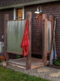 Outdoors Shower - outdoor showers the perfect bath