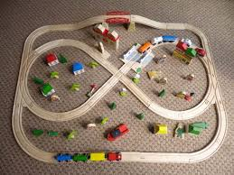 thomas the train activity table and chairs 13 best train tracks images on pinterest wooden train train