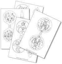 48 christmas images coloring pages kids