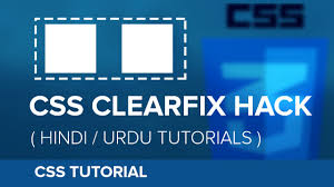 css tutorial in urdu how to use css floats clearfix hindi urdu tutorial youtube