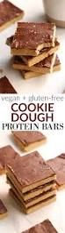 diy protein bars cookie dough protein bars hummusapien