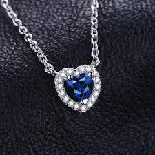 jewelry blue sapphire necklace images 0 6ct blue sapphire necklace 1240 azeze jpg