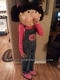 Cabbage Patch Doll Halloween Costume Coolest Homemade Cabbage Patch Kids Costumes