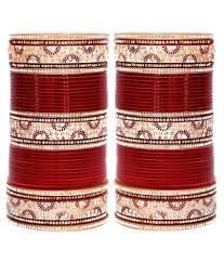 wedding chura 80 on lucky jewellery maroon bridal punjabi choora wedding