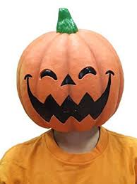 pumpkin mask n rubber mask m2 smiling pumpkin japan import clothing