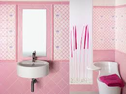 simple pink tile bathroom ideas on small home remodel ideas with