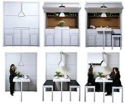 dining table with hidden chairs hidden dining room wall furniture wow tiny house furniture ideas