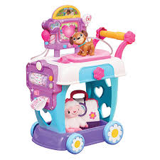 disney junior doc mcstuffins hospital care cart toy just play