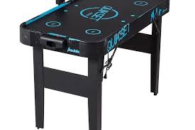 foldable air hockey table 3 easy to fold up air hockey tables in 2017 game room experts