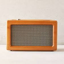 wood gifts for him crosley wood wireless speaker rank style
