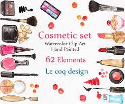 watercolor makeup clipart cosmetic clip art